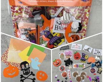 Halloween children's card making kit - new for 2021
