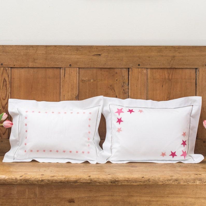 Star Border Baby Pillowcase