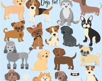 dog clipart etsy rh etsy com dog clipart free dog clipart free