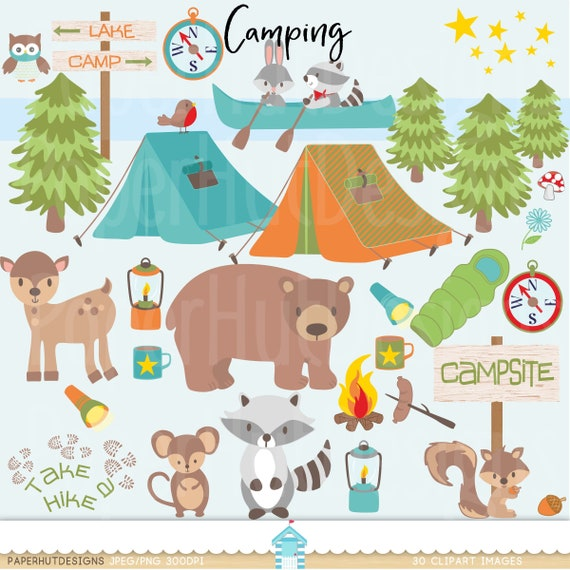 Boys Camping Clipart Clip Art Cute Forest