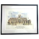 Venue Illustration - Perfect Wedding Gift - Personalised Artwork Available