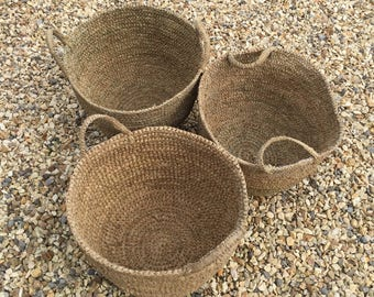 Natural Seagrass Foraging Basket