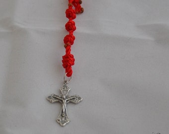 Red One Decade Rosary