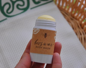 Modomnoc's Bees Handmade Beeswax Body Balm Lotion Bars - Available in 1 oz and 2.5 oz