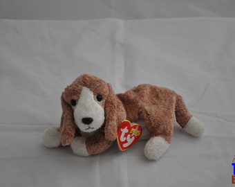 Sniffer the Basset Hound Vintage 2000 Ty Beanie Baby