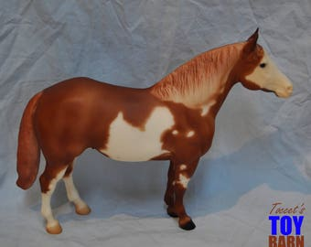 Traditional Breyer Model Horse #1201 Like A Diamond Chestnut Overo Paint Horse, Adios Mold 2003-2005