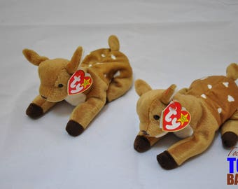 4acf8867f3a Whisper the Deer  Vintage 1997 Ty Beanie Baby