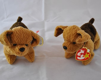 Tuffy the Terrier Dog Vintage 1996 Ty Beanie Baby