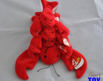 Pinchers the Lobster Vintage 1995 Ty Beanie Baby