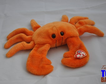 Vintage 1999 Digger the Crab Ty Beanie Buddy