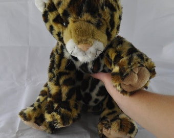Build-A-Bear Amur Leopard Plush Stuffed Animal