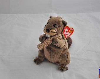 Lumberjack the Beaver 2003 Ty Beanie Baby