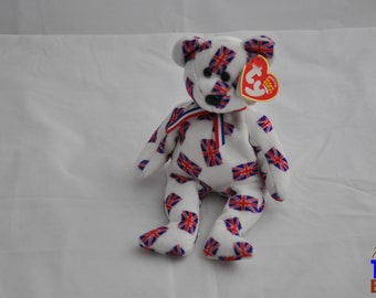 Jack the Bear 2003 British Ty Beanie Baby