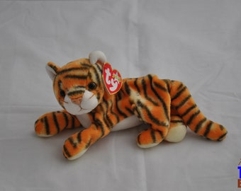 India the Tiger Vintage 2000 Ty Beanie Baby