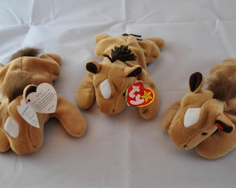 Derby the Horse: Vintage 1995 Ty Beanie Baby Soft Mane