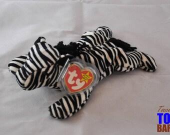 Ziggy the Zebra: Vintage 1995 Ty Beanie Baby
