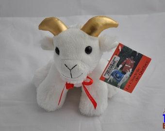 Plush Batisse the Goat Mascot of the Royal 22nd Regiment Quebec