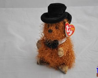 Punxsatawney Phil 2005 Ty Groundhog Day Beanie Baby