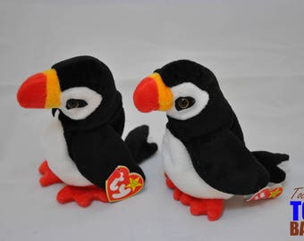 Puffer the Puffin: Vintage 1997 Ty Beanie Baby