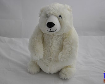 Polar Bear Stuffed Animal Plushie From Fiesta