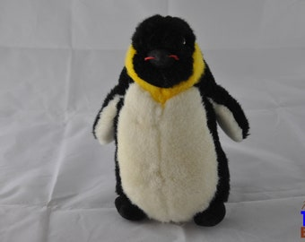 Vintage 1987 Penguin Squeeze Plush From Fundamental Too Ltd