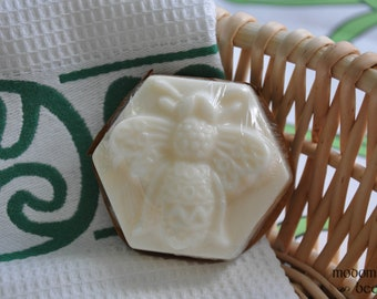 Modomnoc's Bees Fancy Filigree Bee Goat Milk Soap - Choose Your Favorite Scent