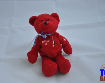 Vintage 1999 Apollo 11 30th Anniversary Bear by Treasure Champs International