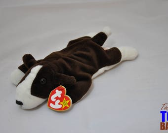 Bruno the Dog: Vintage 1997 Ty Beanie Baby