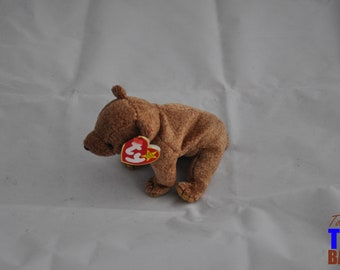 Pecan the Bear Vintage 1999 Ty Beanie Baby