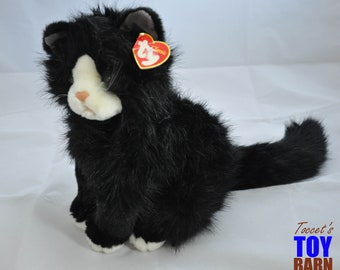 Vintage 1999 Ty Shadow the Cat Beanie Buddy