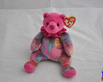 2001 Ty January Birthday Bear Beanie Baby
