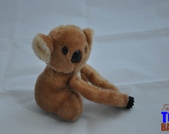 Cute Vintage 1978 Dakin Plush Koala Toy with Hangable Arms