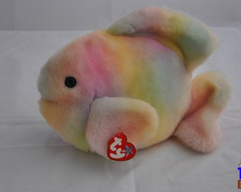 Coral the Fish Vintage 2000 Ty Beanie Buddy