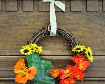The Shire: Hobbiton/Bag End Garden Wreath