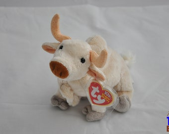 Frosty the White Buffalo 2003 Ty Beanie Baby