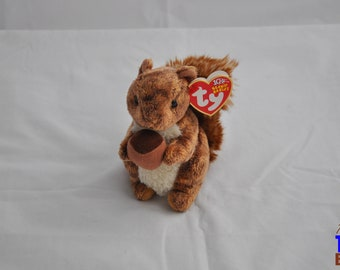 Nutty the Squirrel 2002 Ty Beanie Baby