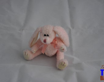 Vintage 1993 Ty Pink Rabbit With Movable Arms & Legs