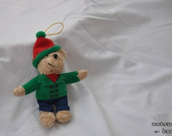 Christmas Ornament - Teddy Bear with Winter Hat and Jacket