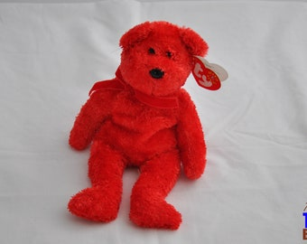 Sizzle the Bear 2001 Ty Beanie Baby