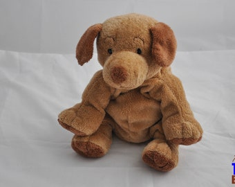 2003 Puppers the Dog Ty Pluffie Stuffed Animal