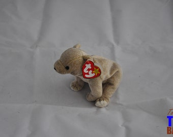 Almond the Bear Vintage 1999 Ty Beanie Baby