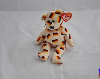 Deutschland the German Bear 2003 Ty Beanie Baby