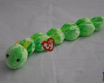 Squirmy the Worm Vintage 2000 Ty Beanie Baby