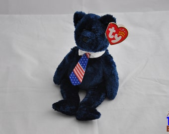 Pops the Bear 2001 Ty Father's Day Beanie Baby