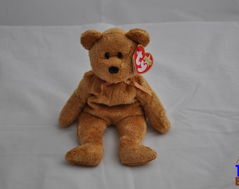 Cashew the Bear Vintage 2000 Ty Beanie Baby
