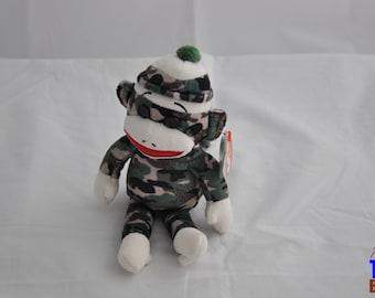 Sock Monkey 2013 Ty Beanie Baby