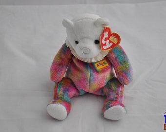 2001 April Birthday Bear Ty Beanie Baby