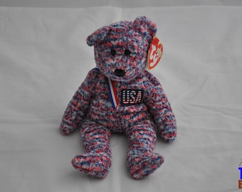 USA the Bear Vintage 2000 Ty Beanie Baby