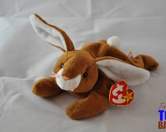 Vintage 1995 Ty Beanie Baby: Ears the Rabbit Style 4018