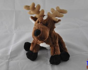 Ganz Christmas Reindeer Plush Toy